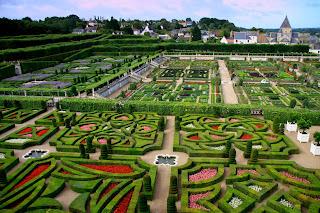 Jardínes del Chateau de Villandry. Francia