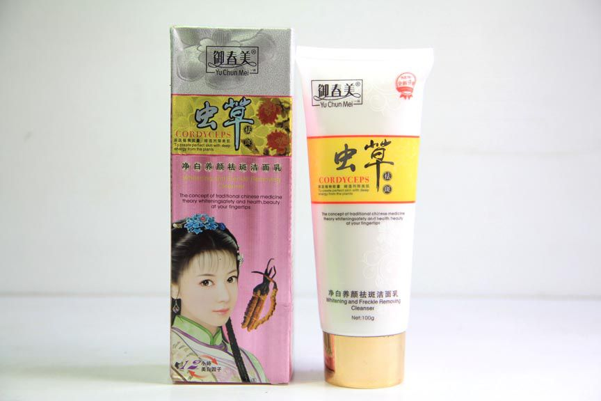 Yu Chun Mei cordyceps Whitening and Freckle Removing Cleanser
