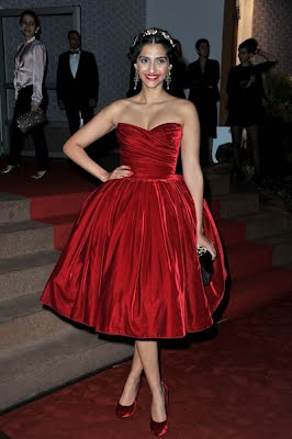 Sonam Kapoor at Cannes Film Festivals 2012 ~ HQ Images