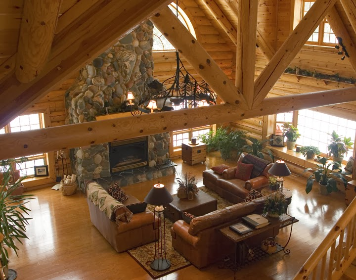 Away From The Things Of Man: Log Cabin Living