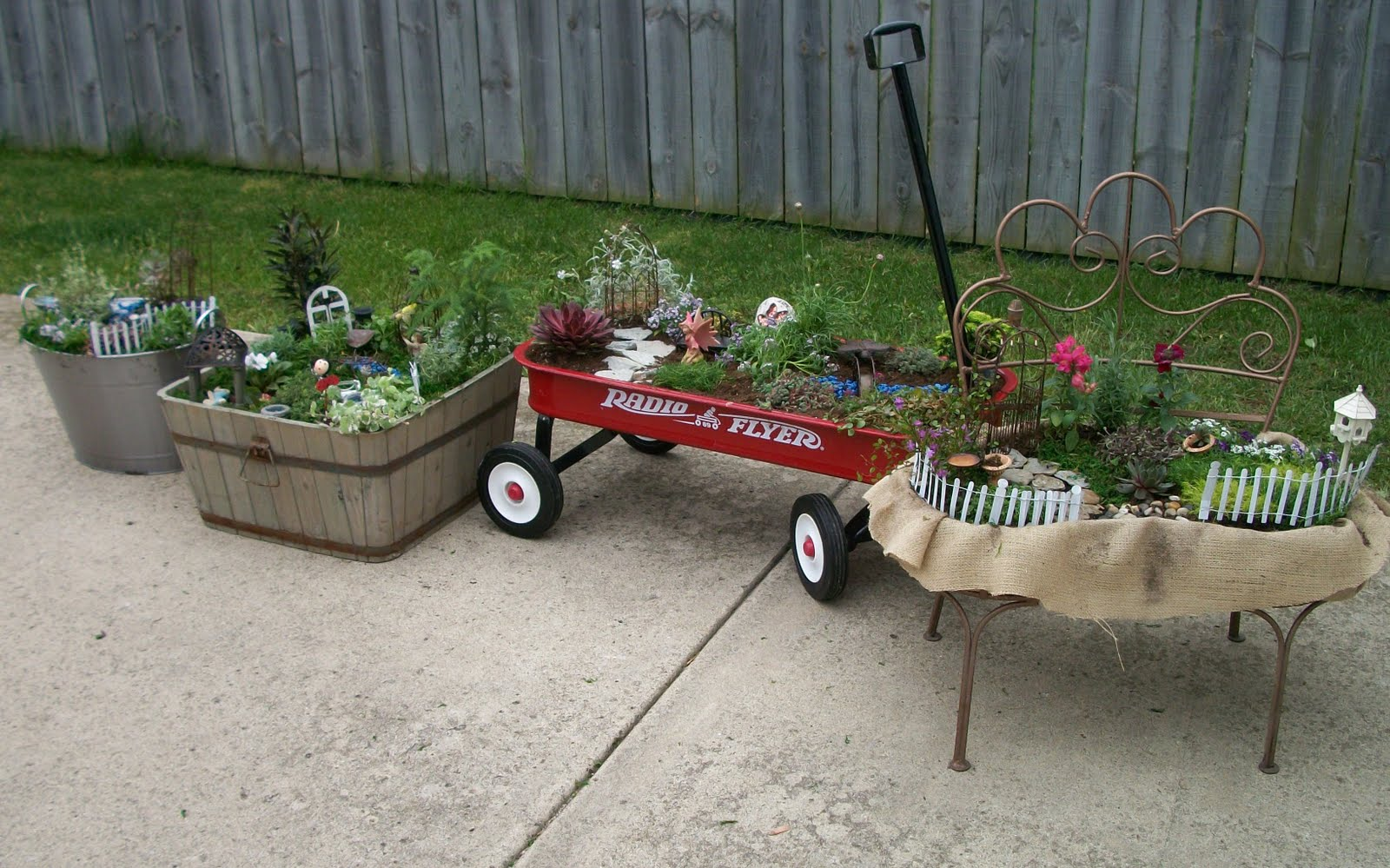 Sixty fifth avenue the fairy gardens - Fairy garden containers for sale ...