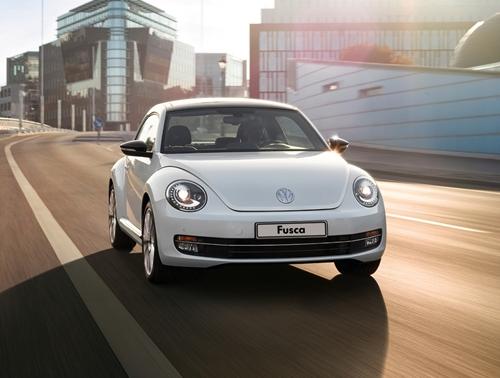 novo Volkswagen Fusca 2013 dianteira
