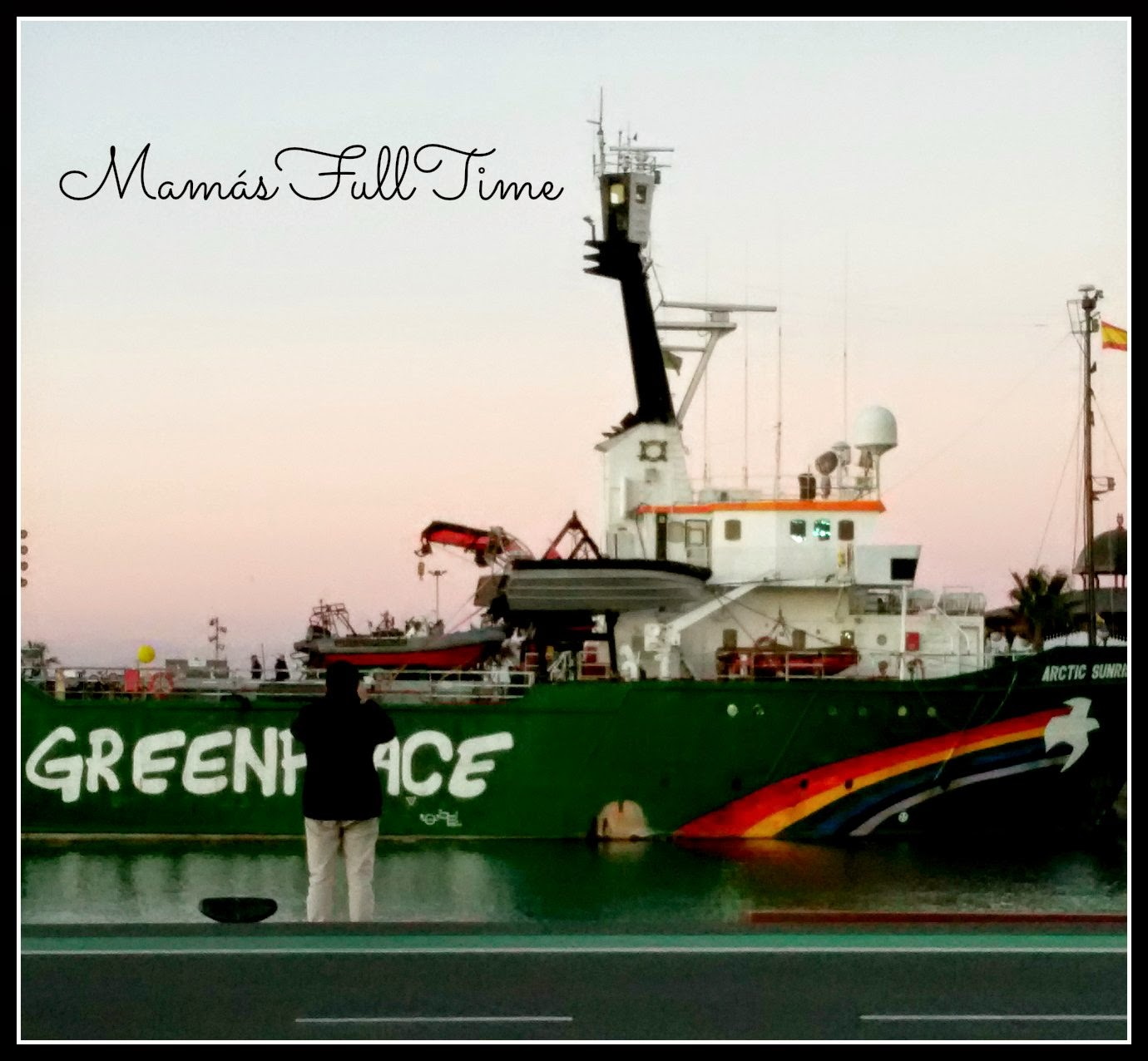 Visita Barco Greenpeace Artic Sunrise