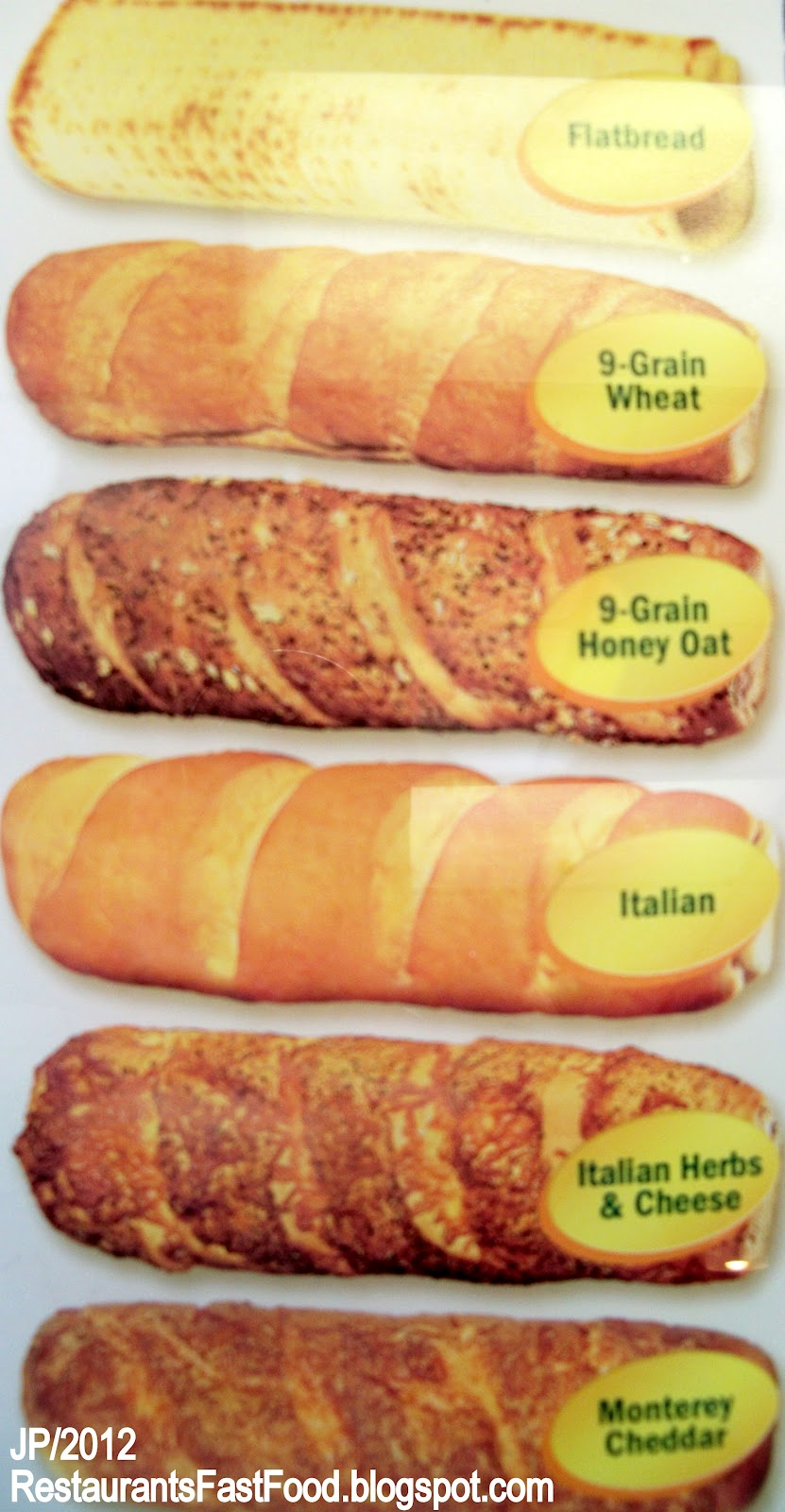 subway cheese options