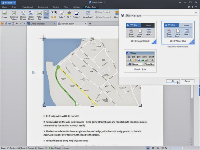 Kingsoft Office Suite Free 2013 9.1.0.4550 - softwikia