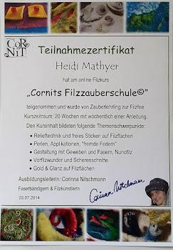 zertifizierte Filzfee