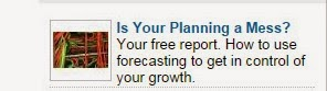 Linked In Advert for Managing High Growth Sales Forecasting Campaign