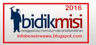 Info BidikMisi 2016
