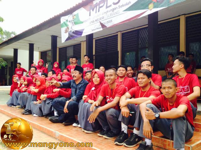 Ketua DPRD Subang Beni Rudiono sidak MOS Sekolah