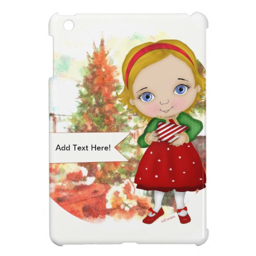 Cool iPad Mini Case-Christmas Girl