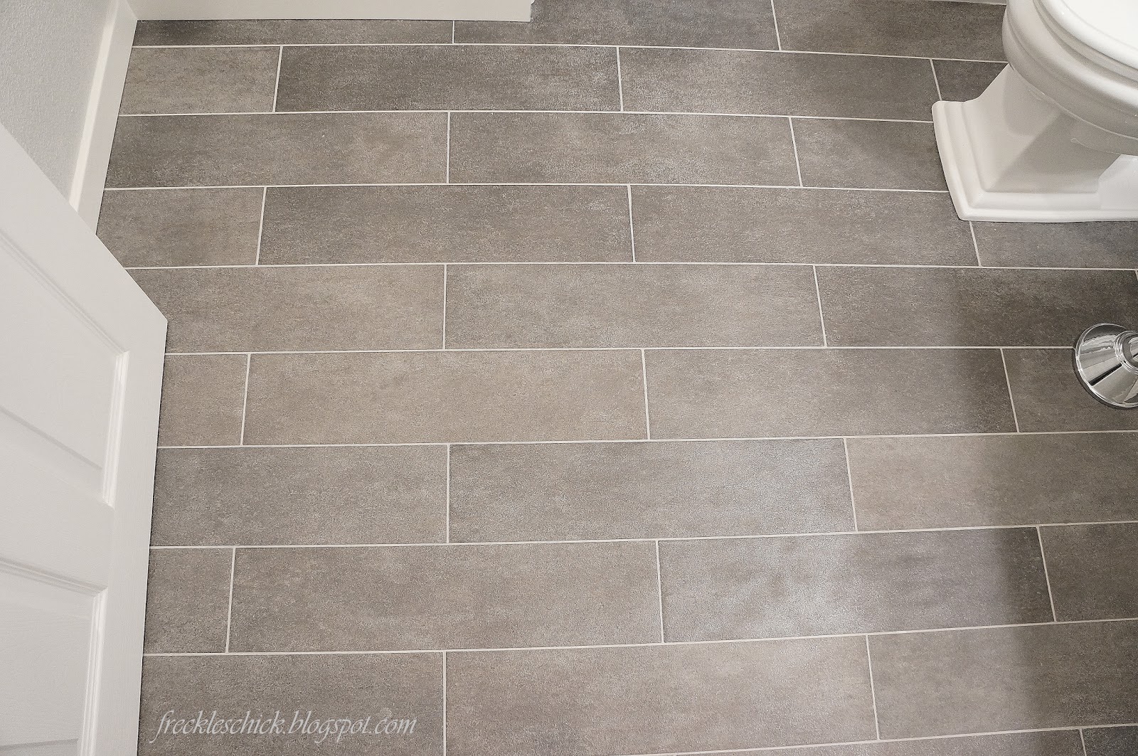 Http Freckleschick Blogspot Com 2012 03 Plank Bathroom Floor Tiles Html