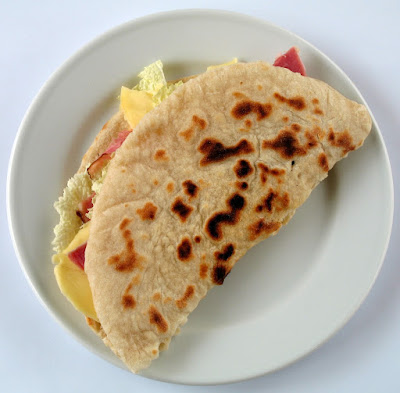 piadina romagnola, a typical local dishes