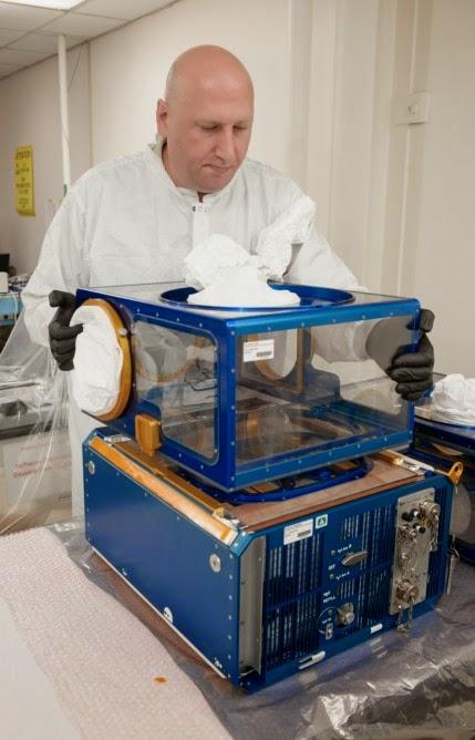 NASA's Rodent Habitat module