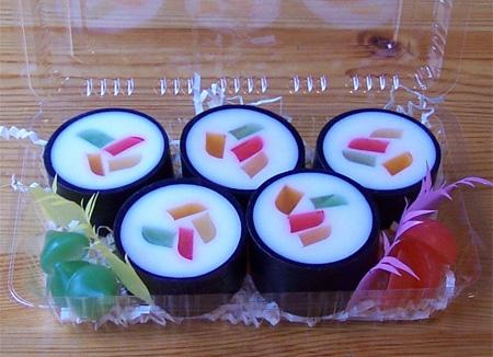 Desain Objek Yang Terinspirasi Oleh Sushi