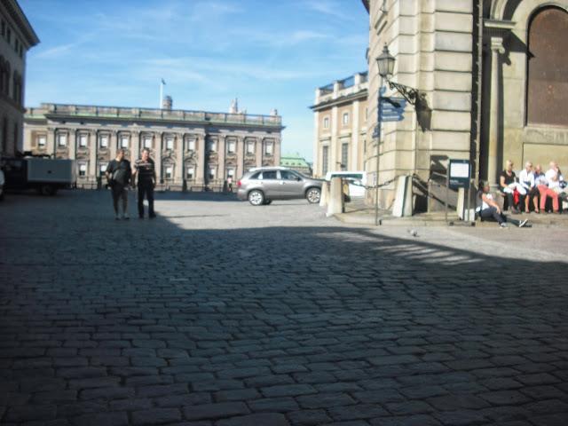 Walking tour in Stockholm, Sweden
