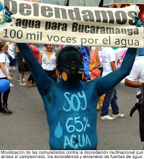 Venezuela/ Colombia y su conflicto interno - Página 5 POR+EL+AGUA+CONTRA+DEPREDACIO%CC%81N+MULTINACIONAL