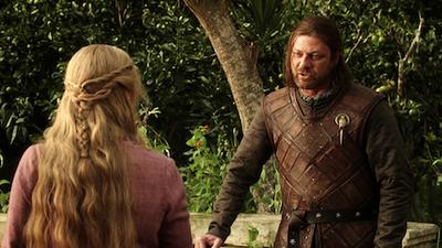 Ned le descubre a Cersei que sabe toda la verdad - Juego de Tronos en los siete reinos