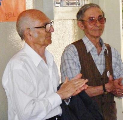 """Juan Vergara y Rafael Mario """"Ninalquin"""" Altamirano"""