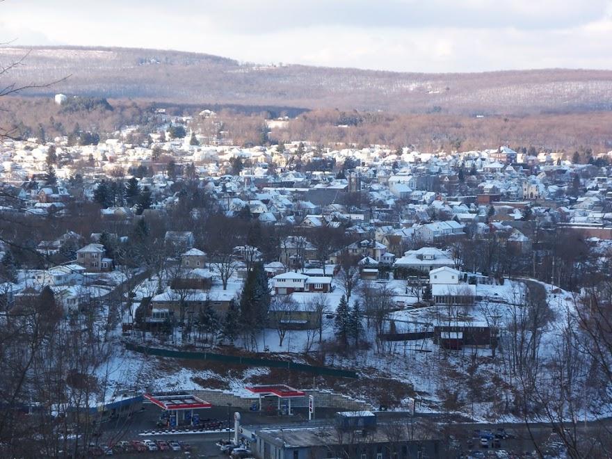 Two Views of Lehighton