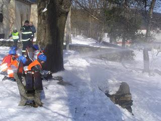 Velikonoce na Krásné 24. 3. 2013 - Malí hasiči SDH Bratříkov