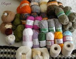 Aguja y ganchillo ya ha sorteado estas maravillosas lanas.