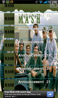 M.A.S.H. Soundboard Screenshots