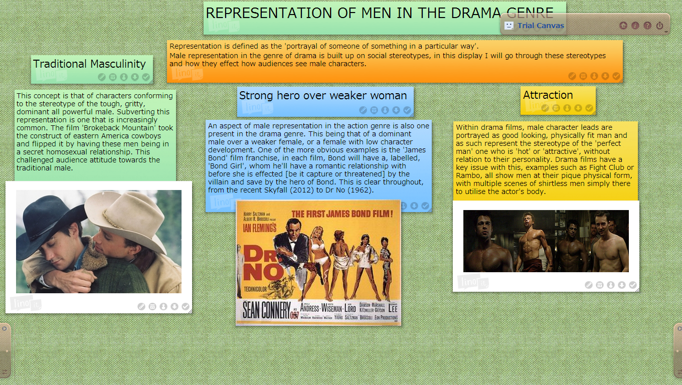 the stereotypical male character and masculinity essay