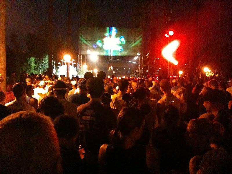 Corral A start Disneyland Half Marathon