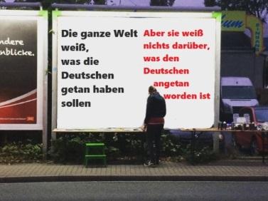 Bild - Plakattafel Deutschland