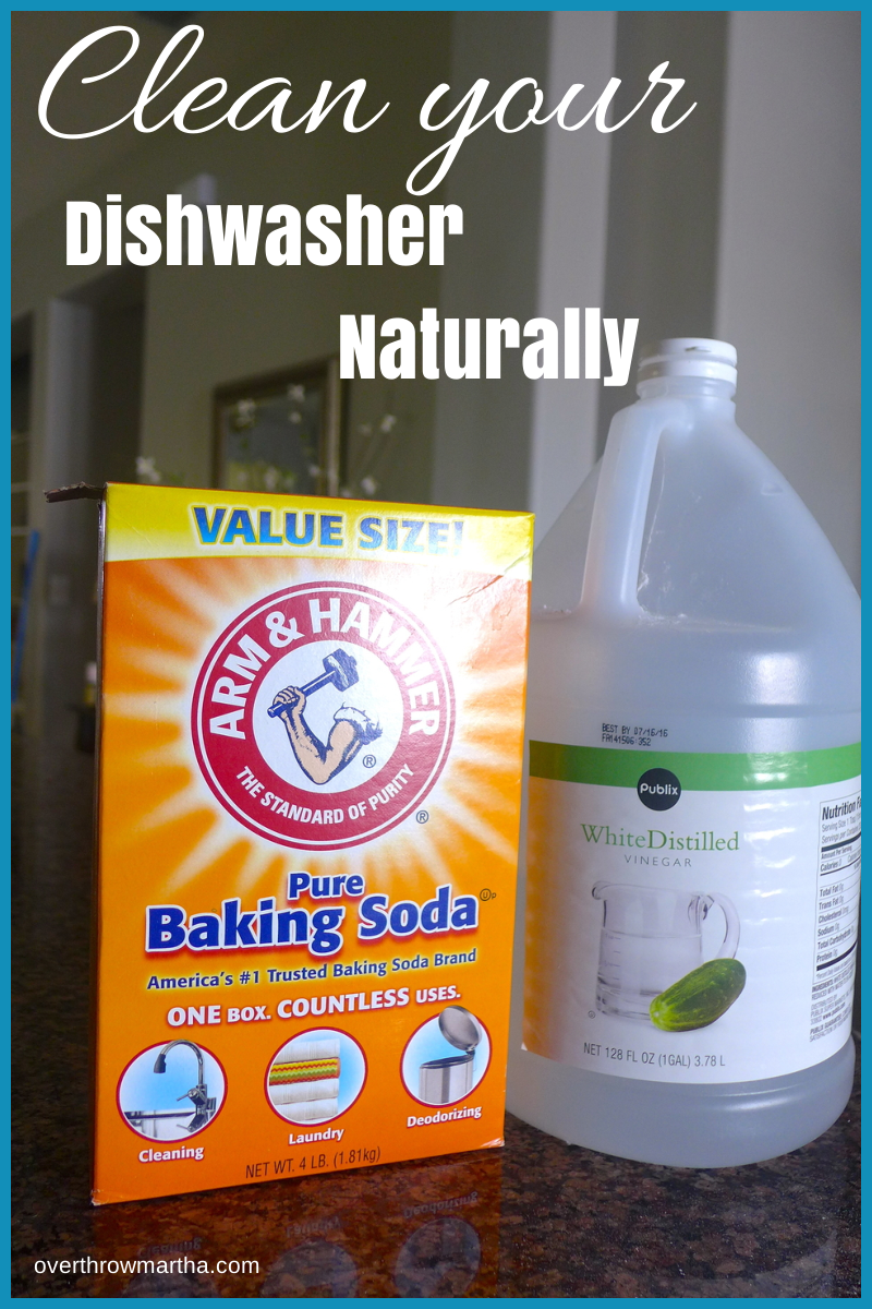 How to clean your dishwasher #DIY #Greencleaning
