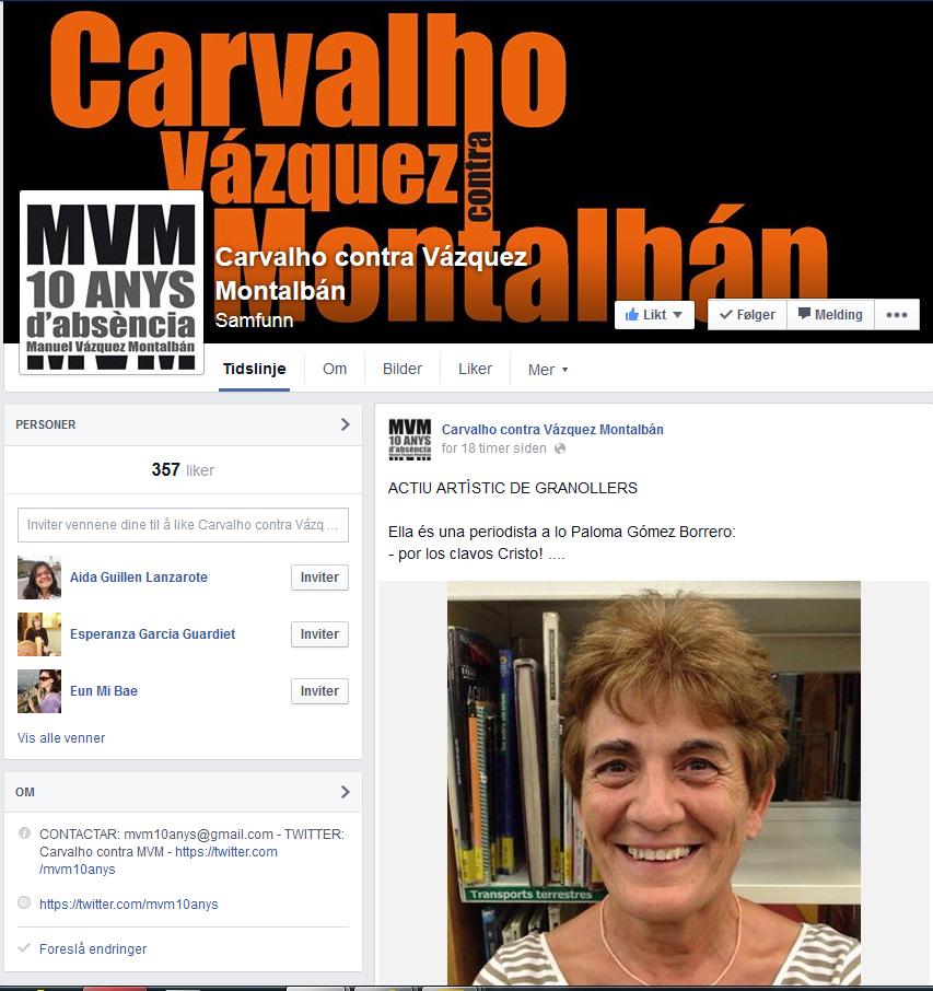 https://www.facebook.com/CarvalhoContraVazquezMontalban/likes