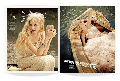 bridal magazine layout