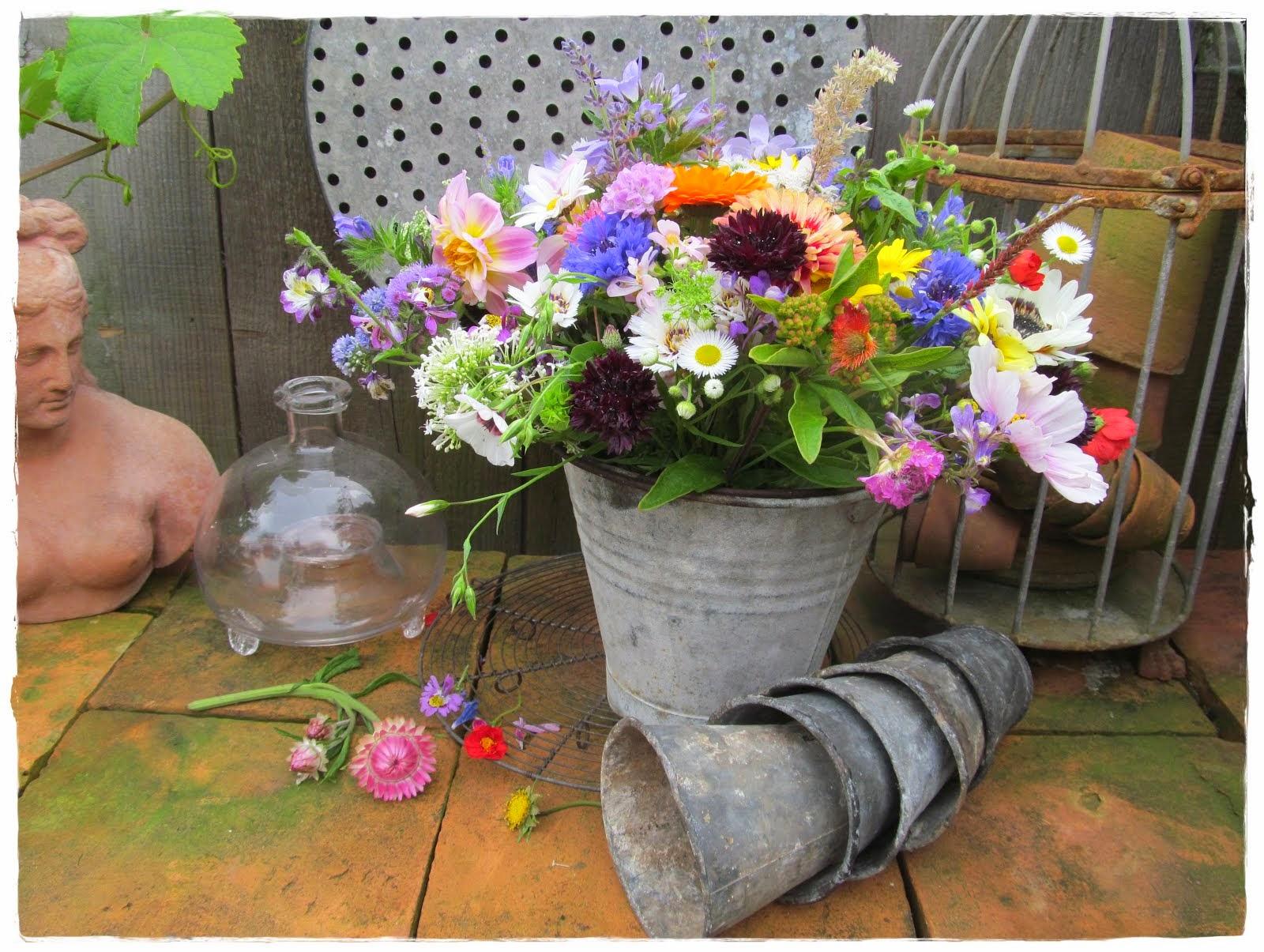 bloemen pluktuin Mierlo