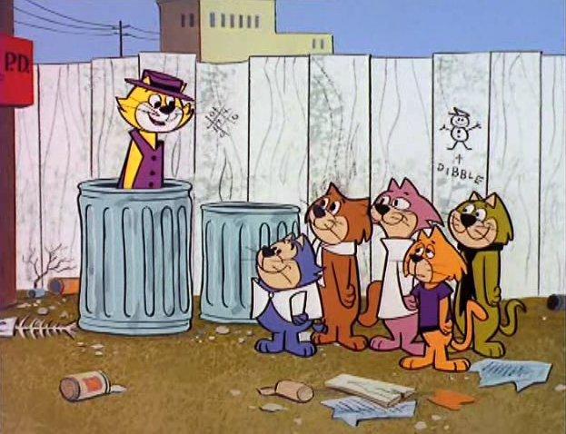 Fotograma de la serie don Gato y su pandilla