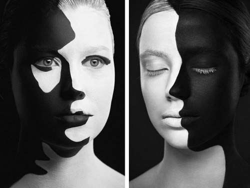 01 alexander khokhlov black white face painting