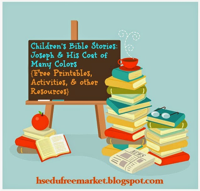 Market: Children's Bible Stories: Joseph and His Coat of Many Colors ...