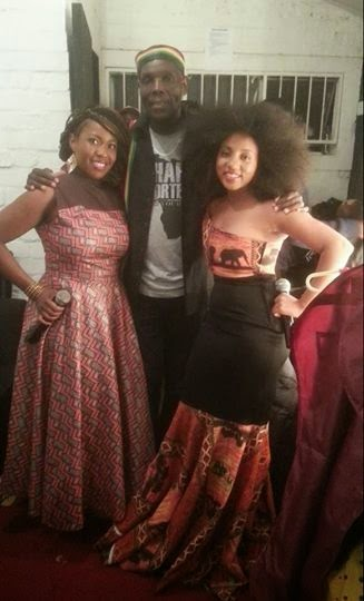 TUKU AND HIS GIRLS