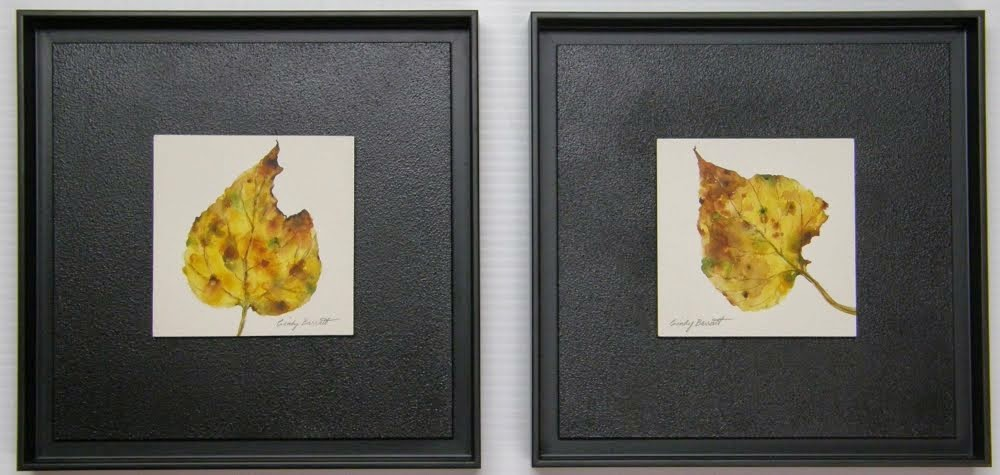Balsam Poplar, Autumn Leaf #1 & #2