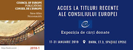 Acces la titluri recente şi produse electronice ale Consiliului Europe
