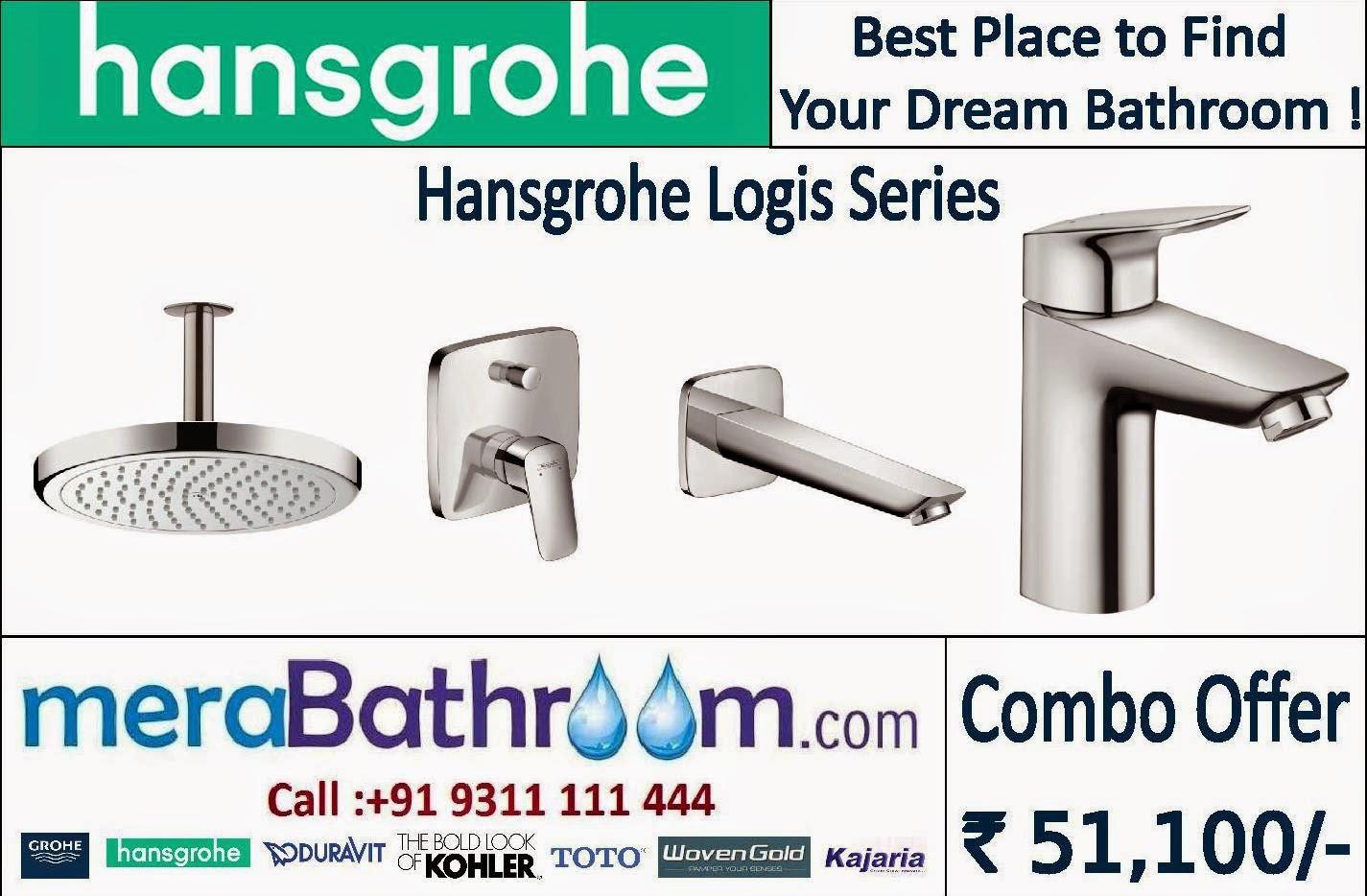 Erstaunlich Hansgrohe Logis Complete Bathroom | GROHE Bath Fitting RH78