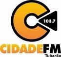 Rádio Cidade FM de Tubarão ao vivo