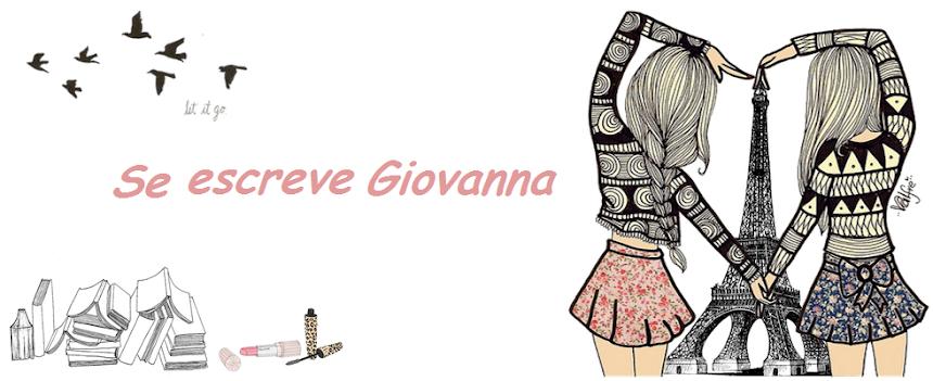 Se Escreve Giovanna