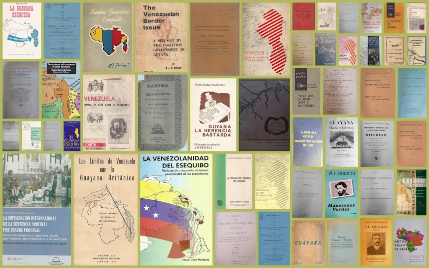 Bibliografía La Guayana Esequiba.com