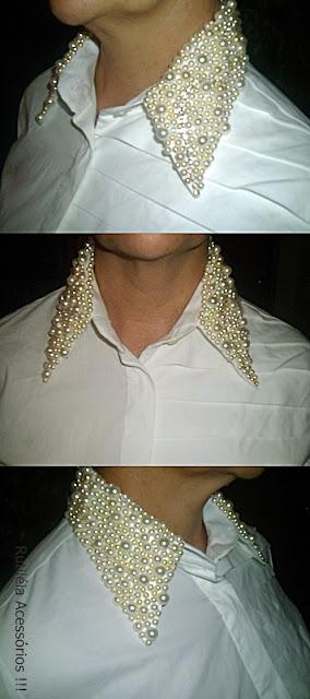 camisa bordada 100% algodão