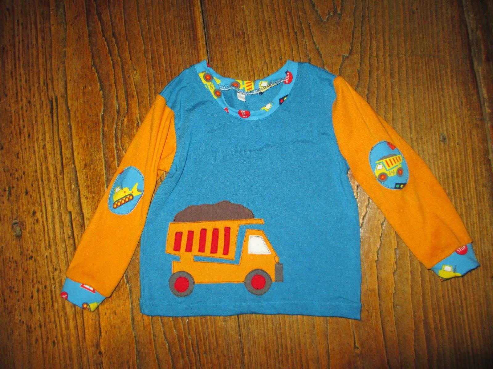 Nähen für Kinder Lastwagen