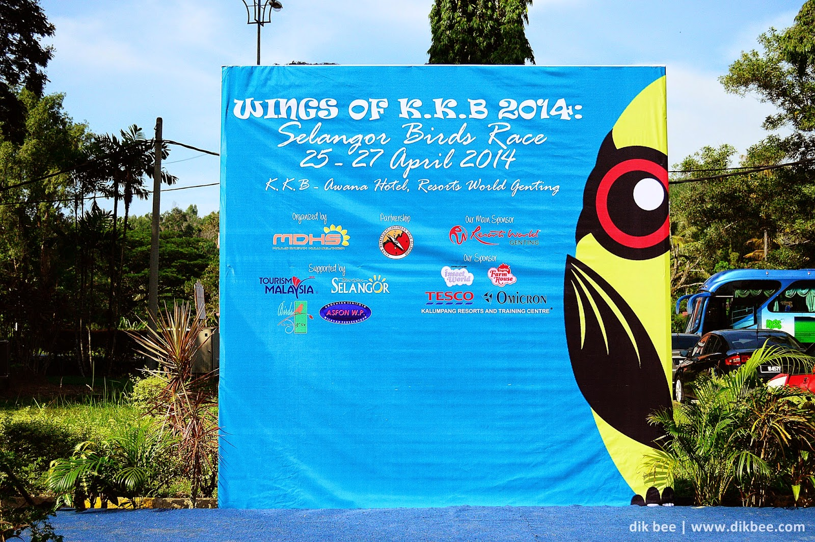 Wings Of KKB 2014 | Selangor Bird Race