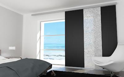 cortinas cuarto moderno