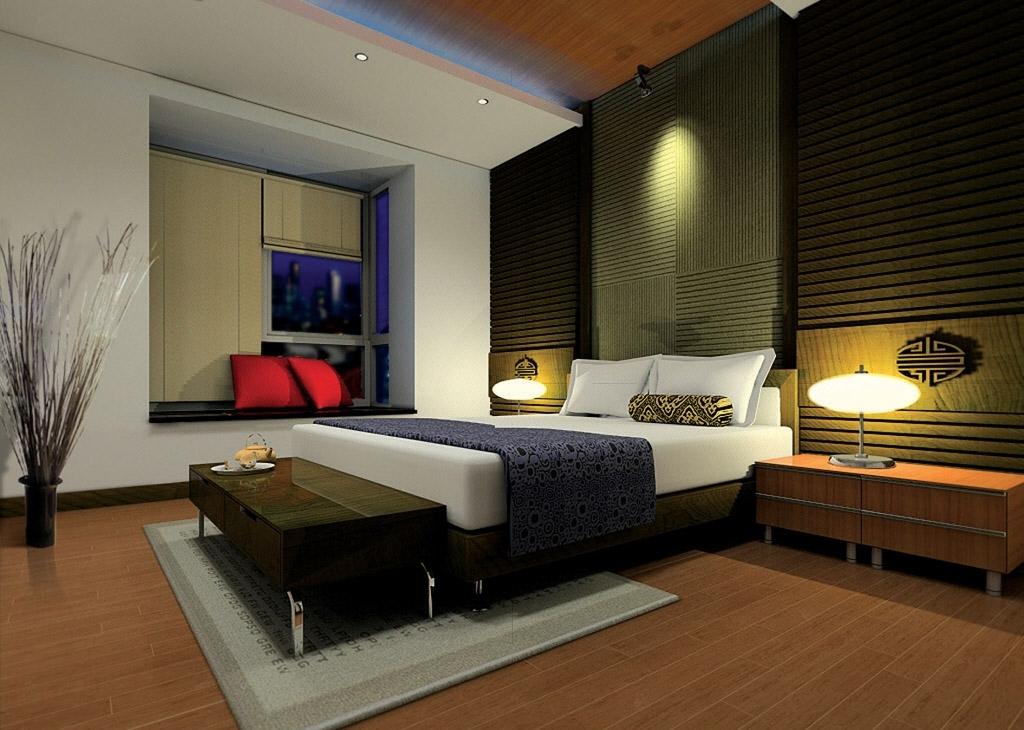 model kamar tidur minimalis terbaru lengkap 2013