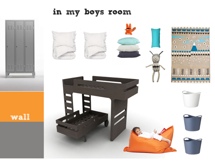 boy's room 7 and 3 years old with Rafa-kids F&R beds set