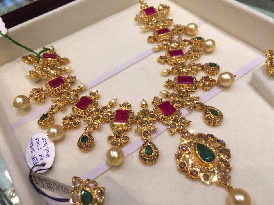 jewellery necklace vintage the traditional gold with and ring is from antique uk studded rubies temple rings jewelry ruby